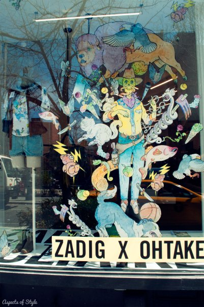 Zadig&Voltaire at Bleeker Street, NYC
