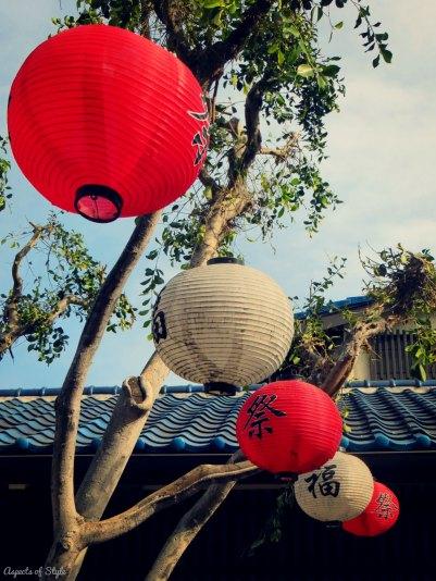 Little Tokyo lanterns, Downtown LA