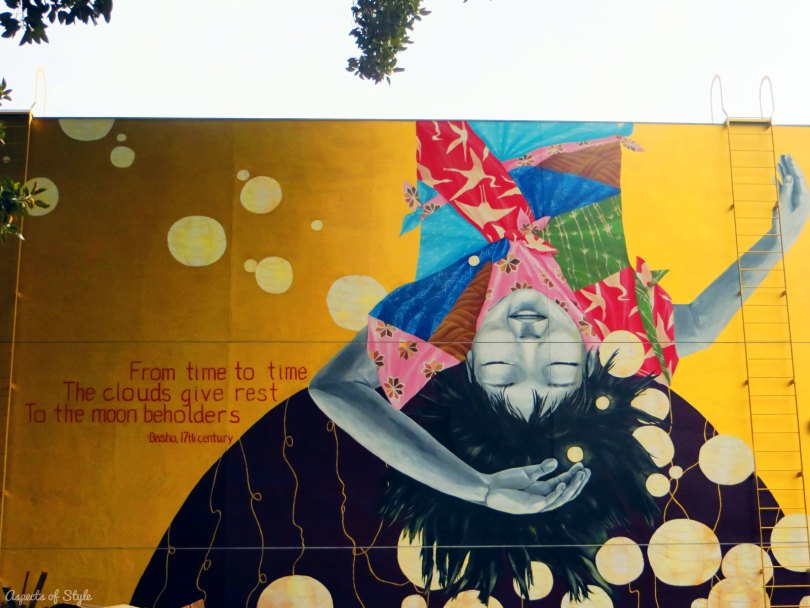 mural in Little Tokyo