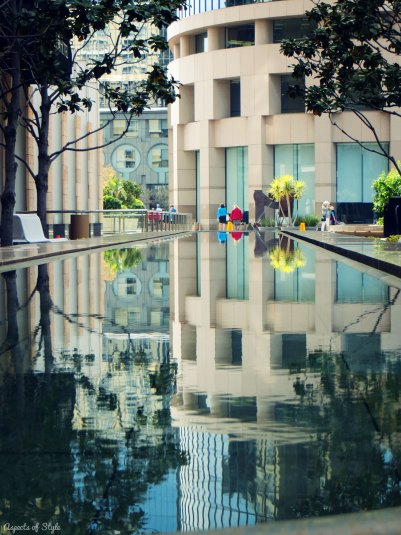 reflections in Downtown LA