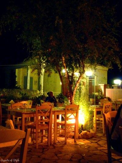 Thymari restaurant, Lefkada