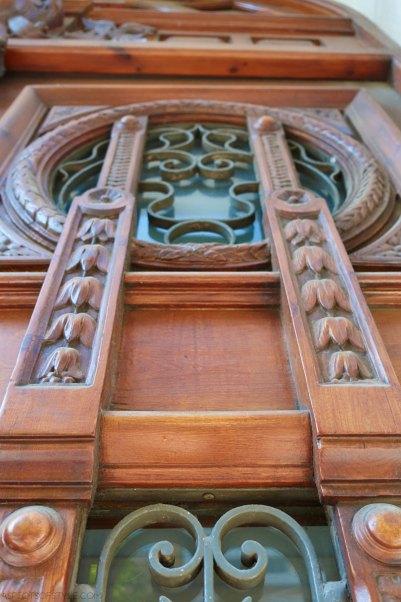 Architectural details in Thessaloniki