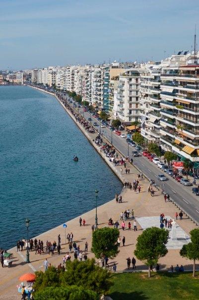 Niki's avenue: Thessaloniki's seaside promenade