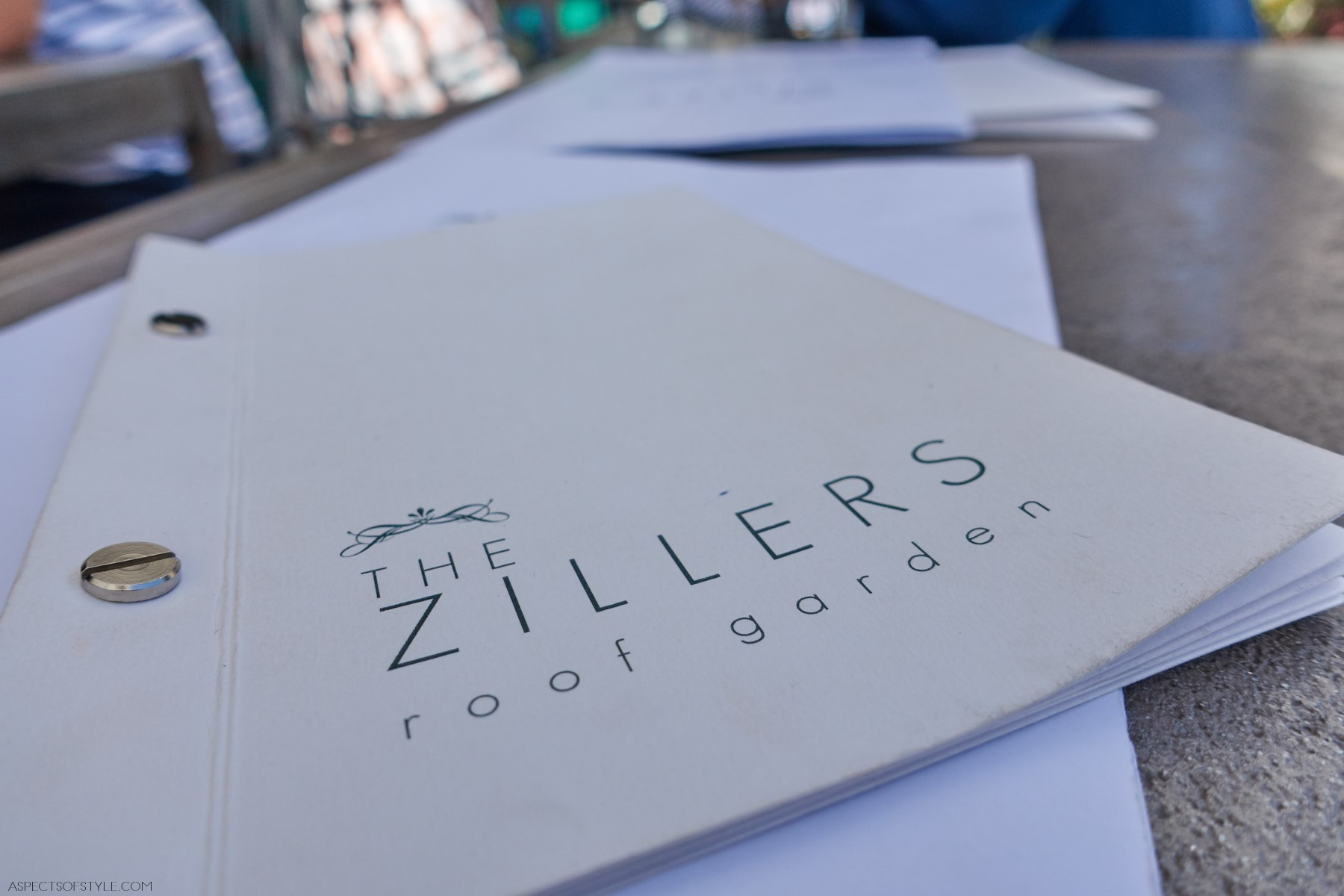The Zillers Roof Garden Athens Aspects Of Style