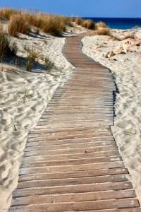 Simos beach, Elafonisos, Peloponnese, Greece