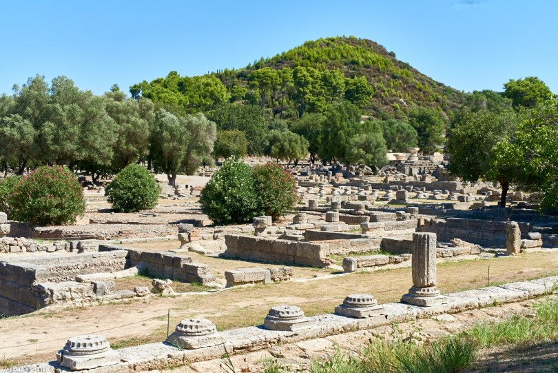 Ancient Olympia, Peloponnese, Greece