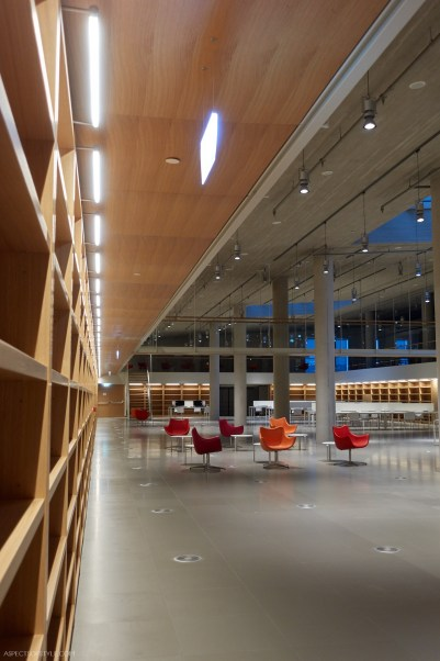 inside the Library buildingStavros Niarchos Foundation Cultural Center