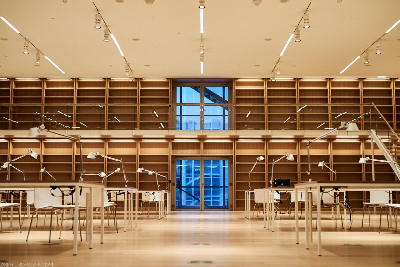 inside the Library building Stavros Niarchos Foundation Culture Center