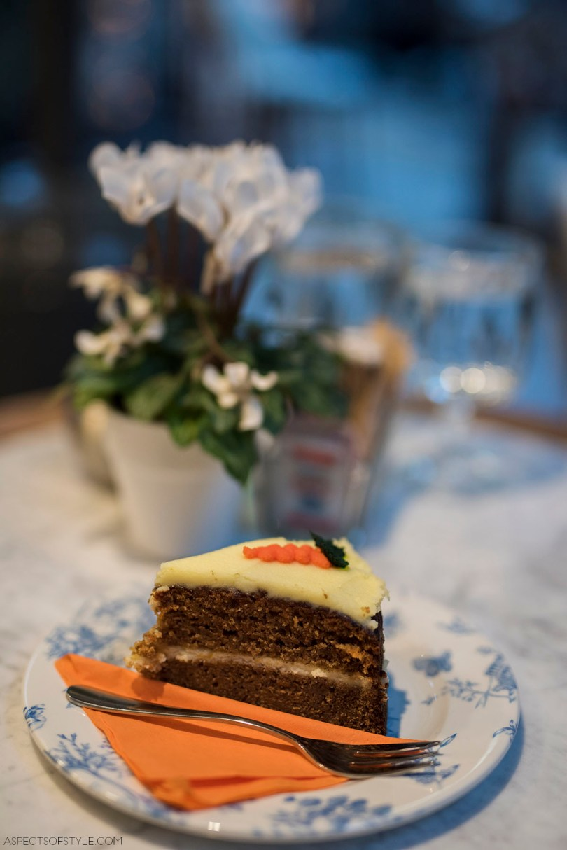Carrot cake at B Madame Kolonaki