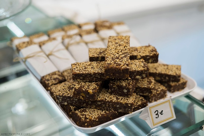 Energy bars at B Madame Kolonaki