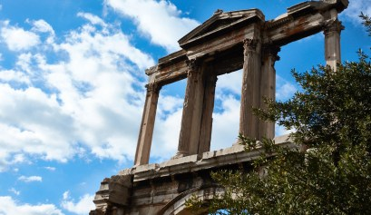 Hadrian's Arch Athens