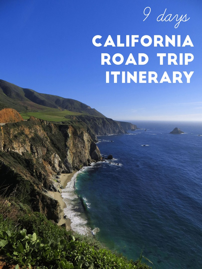 9 Days California Itinerary: What to see and do in Los Angeles, Pacific Coast Highway and San Francisco
