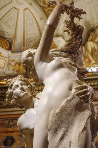 Apollo and Daphne, Galleria Borghese, Rome