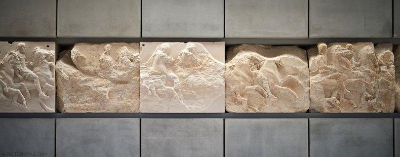 Parthenon frieze Acropolis Museum Athens