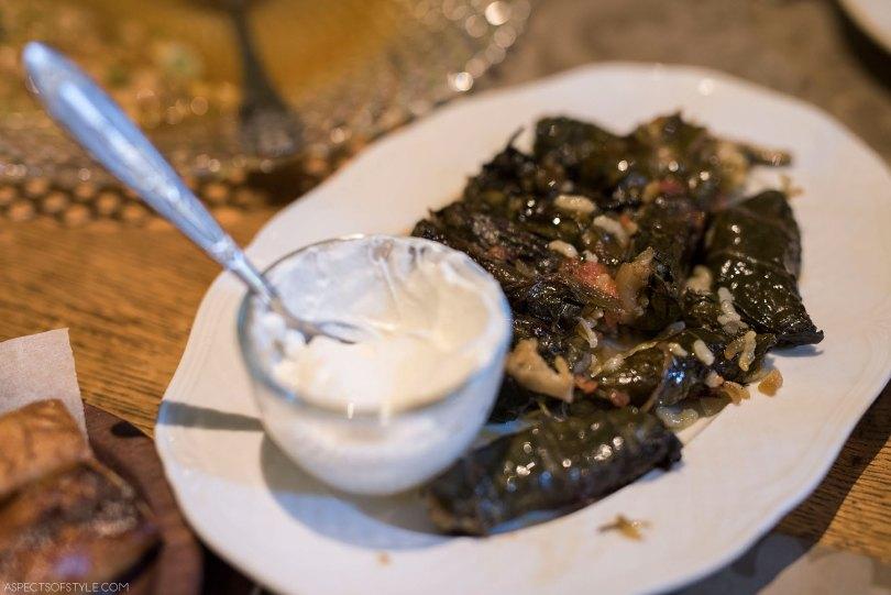 appetizer at Peskesi restaurant, Heraklion Crete