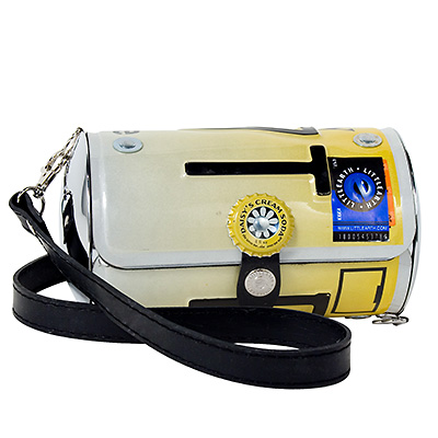 New Jersey license plate purse
