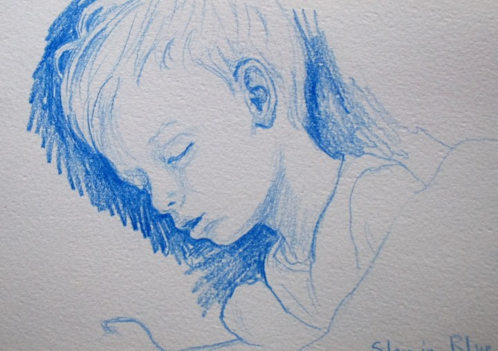 sketch-in-blue