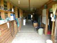 Aspengrove barn interior