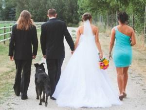 country wedding Aspengrove Country Resort