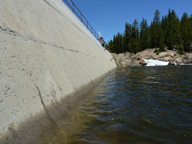 RF Diversion dam