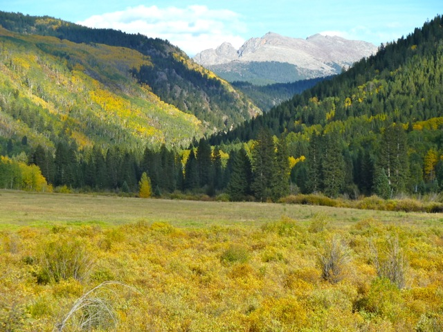 The beautiful Hunter Creek valley in the fall of 2012. It's often considered to be Aspen's back yard, and the subject of a collaborative planning effort across a 4,681-acre area of federal land.