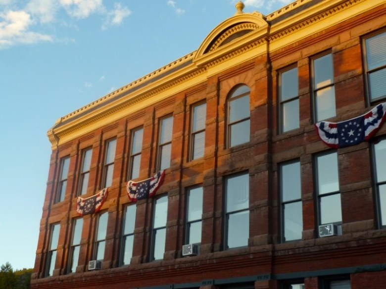 The Elks Building in downtown Aspen. Reducing the energy used in Aspen's commercial core is one  goal of the city's new director of the Canary Initiative.