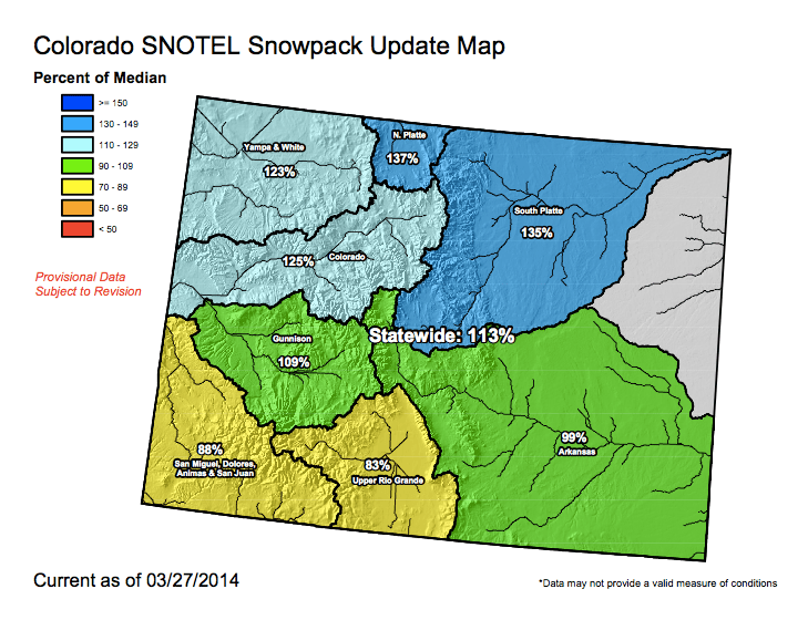 Statewide snowpack 3:27