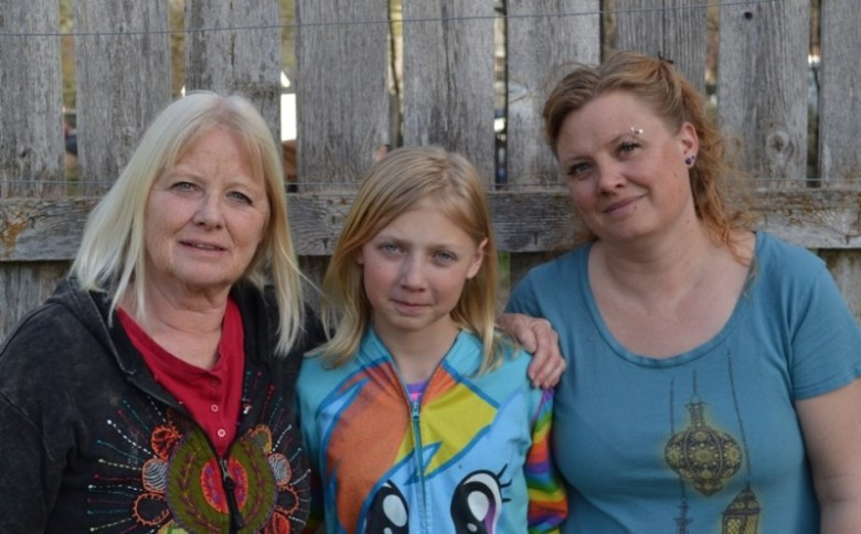 Peggy Tibbetts (left), her daughter, Ema (right), and 12-year-old granddaughter, Hailey, all of Silt, say the area's oil and gas industry is to blame for toxic chemicals found in their blood and urine.