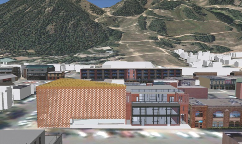 A digital image shown to the Aspen city council on Aug. 2, 2010, when the council voted to approve the conceptual design, brought about through a legal settlement.