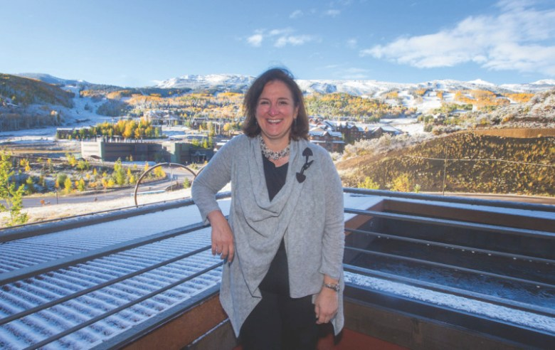 Rose Abello, the director of Snowmass Tourism.