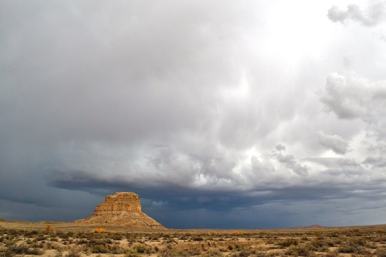 Fajada Butte is not only a standout on the desert landscape of Chaco Canyon, it contains an ancient sun   clock marking each seasonal solstice
