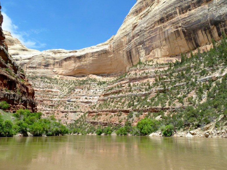 The Yampa River, below Maybell.