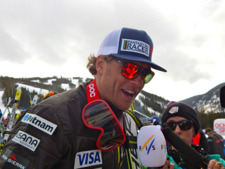 U.S. Ski Team veteran Steve Nyman said the FIS-sanctioned spring 2014 races at Aspen Highlands helped him to rethink his entire equipment set-up. Nyman has been on the podium three times at Beaver Creek, including Friday when he finished third in the downhill. This weekend's races are considered an important trial run to the Alpine World Championships, which will be hosted by Vail/Beaver Creek beginning Feb. 2, 2015.