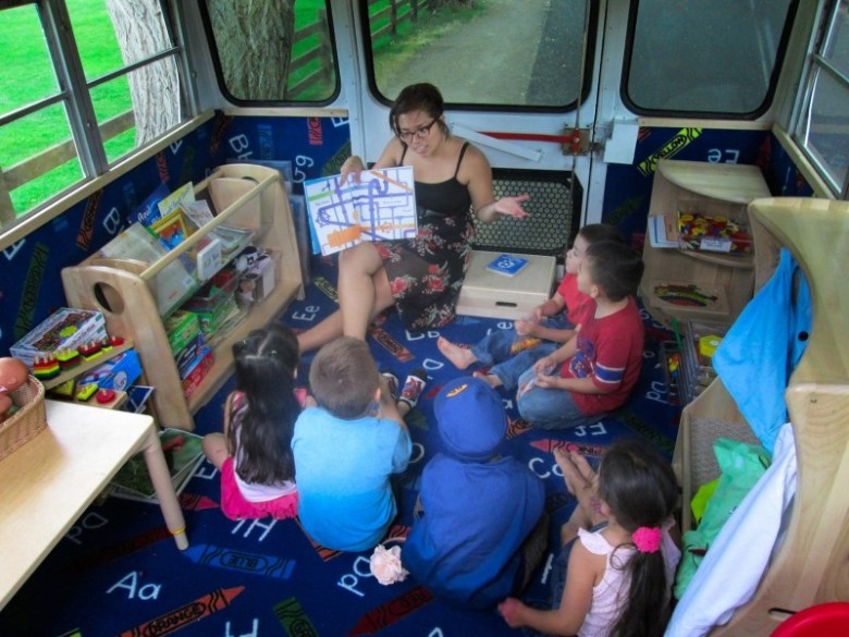 The Valley Settlement Project in Carbondale brings preschool to low-income families in El Jebel, Carbondale and Glenwood Springs using El Busesito (The Little Bus), a mobile classroom.