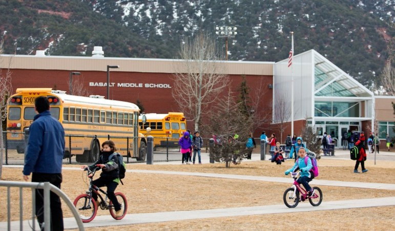 Built in the 1970s, Basalt Middle School is expected to receive a major renovation if the district wins a possible bond election.