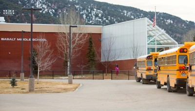 Basalt Middle School, which is getting a new principal - Jennifer Ellsperman.