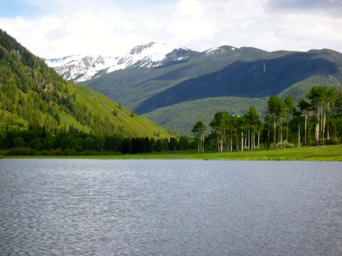 A large portion of the meadow in the North Star nature preserve east of Aspen was flooded in June 2015. The expanse of water offers a glimpse of what the long-planned Aspen Reservoir might have looked like.
