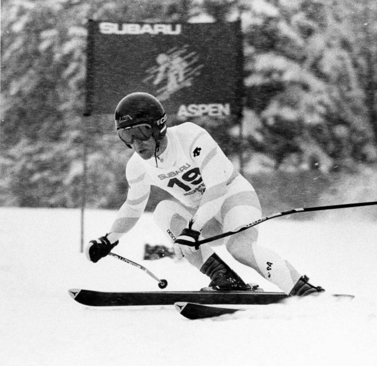 World Cup 'bad boy' Billy Johnson winning Winternational Downhill in 1984 right after winning Sarajevo Olympic downhill.
