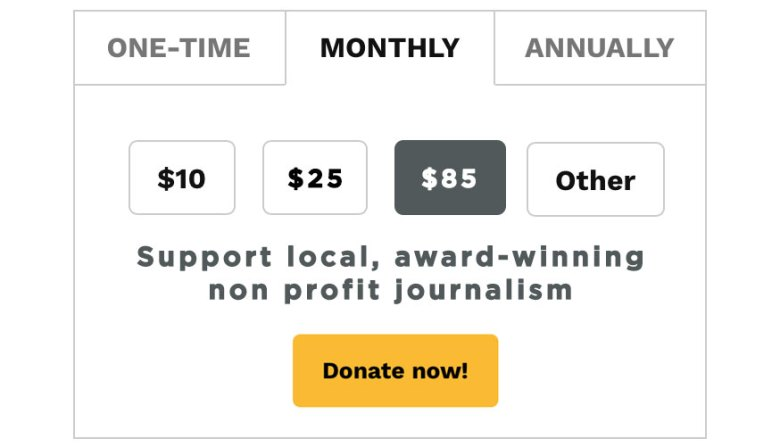 Support award-winning journalism