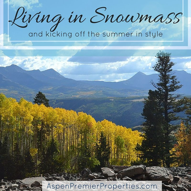 Living in Snowmass - Snowmass Homes for Sale