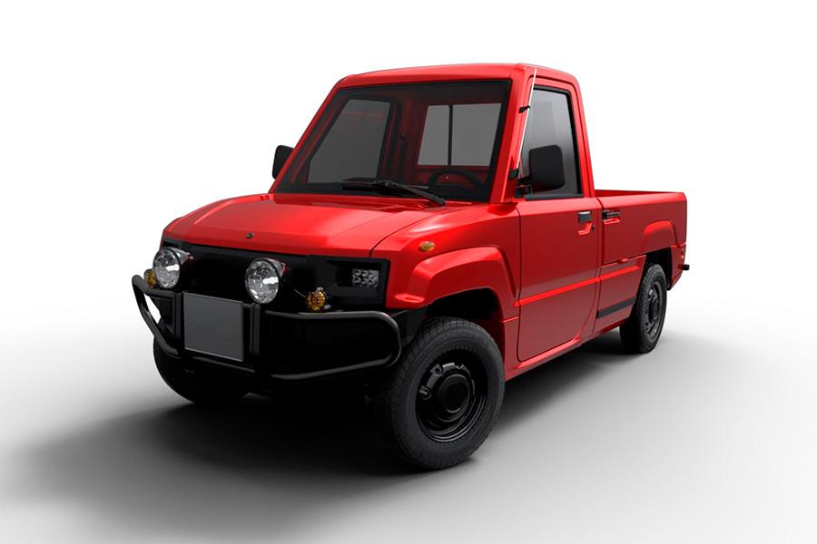 Elektro-Pick-Up vorgestellt
