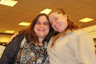 Lisa Rajczyk and Leia Acevedo