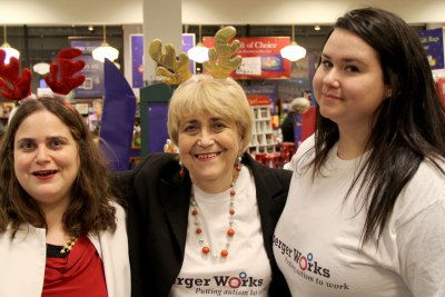 Lisa Rajczyk, Eva Rajczyk, and Lizzi Bowen