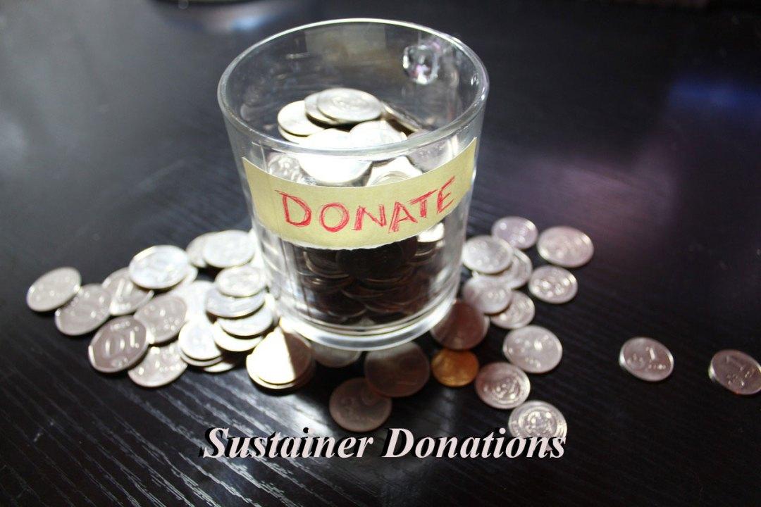 Sustainer Donations