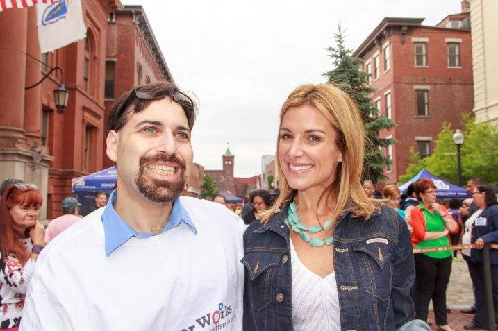 Daniel Rajczyk and Sara Underwood