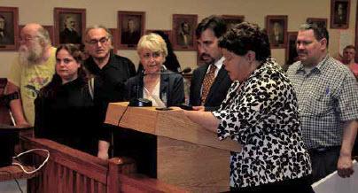 Proclamation Being Read by City Councilor Nilka Alvarez-Rodriguez