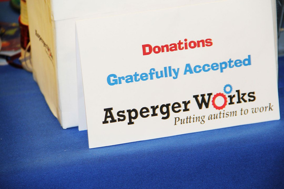 Donations to Asperger Works