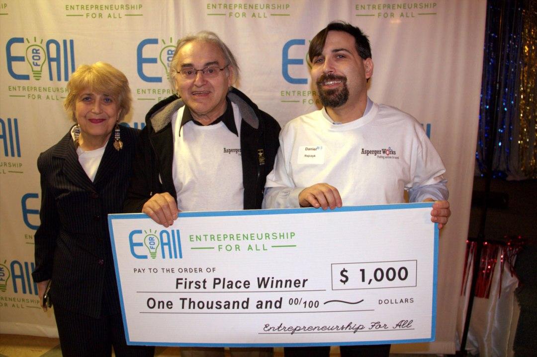 EforAll Winners - Eva, Daniel, Adam Rajczyk
