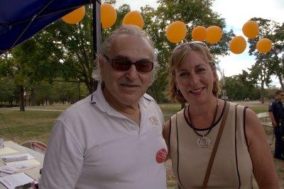 Adam Rajczyk with Barbara L'Italien