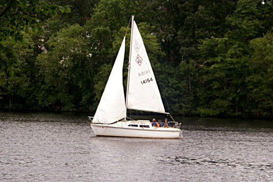 Sailing on the Merrimack